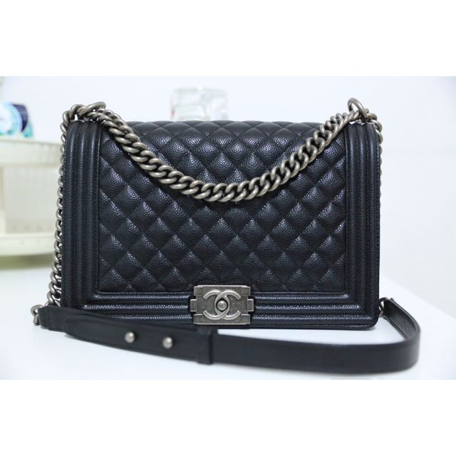 Chanel Leboy Black New Medium 1:1