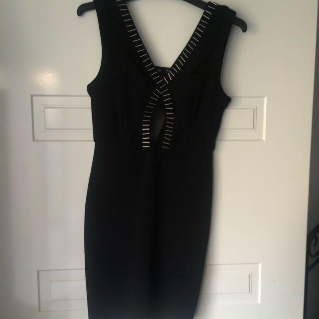 Chic A Booti Black Dress Size Small