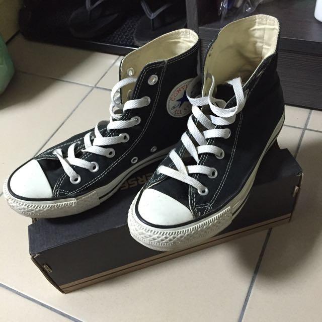 (已售出)Converse基本款高筒帆布鞋✨