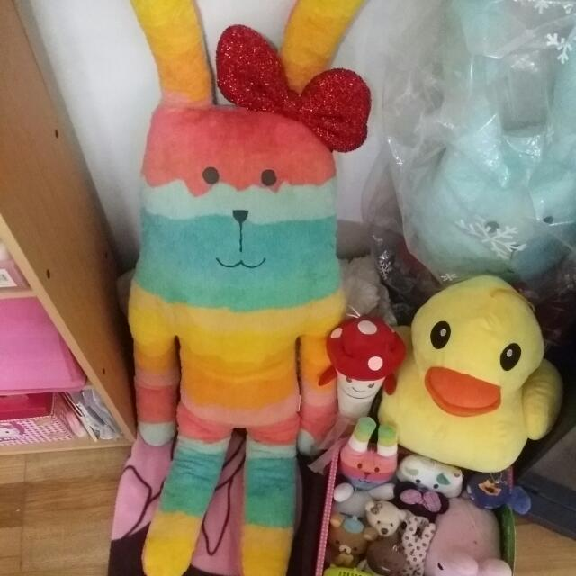 *含運*香菇槌子&黃色小鴨 可愛❤娃娃