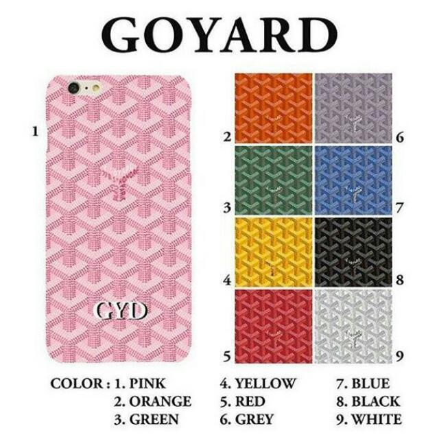 huge discount f0fbd 040da Goyard Personalised Phone Case