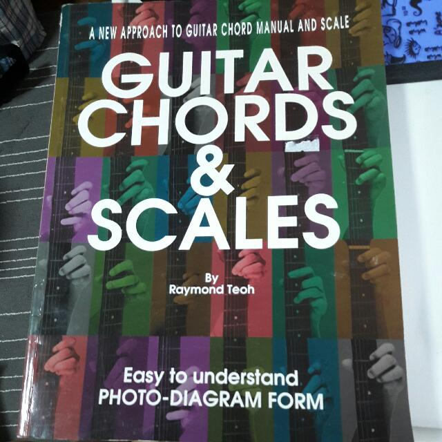 Guitar CHORDS & SCALES, Music & Media on Carousell