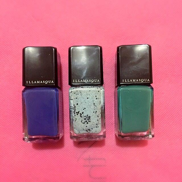 Illamasqua Nail Polish Set