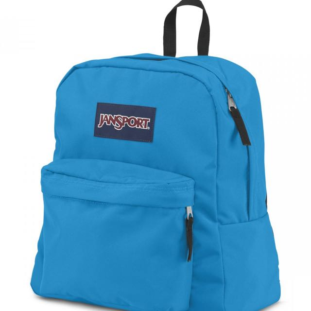 JANSPORT藍色後背包