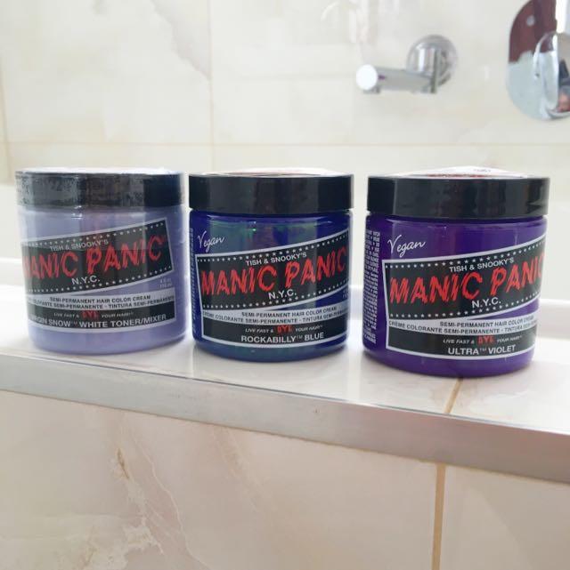 Manic Panic Hair Dyes x3
