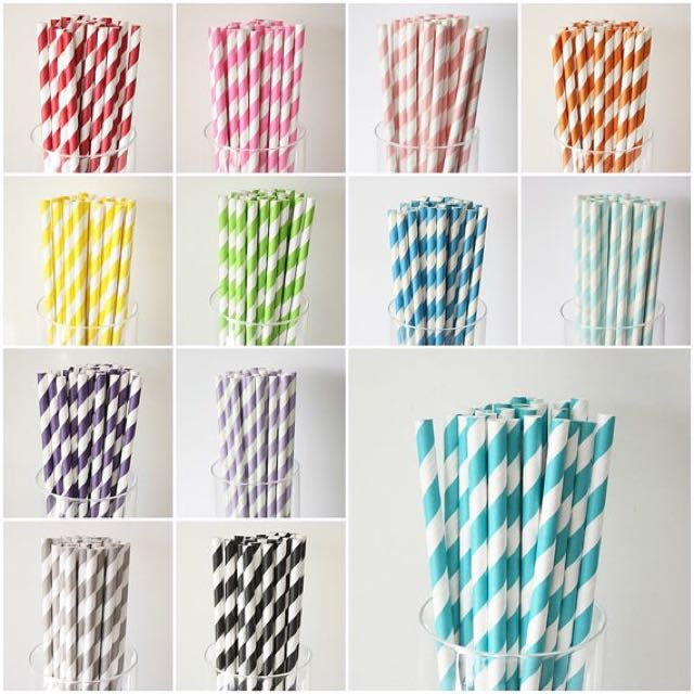 Paper straws for sale  (Biodegradable / Eco Friendly)