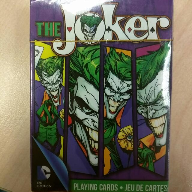 Rare Joker Poker Playing Cards