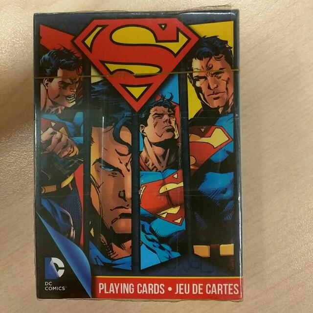 Rare Superman Poker Cards
