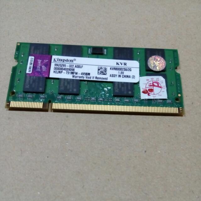 (SECOND) Ddr2 Kingston 2GB
