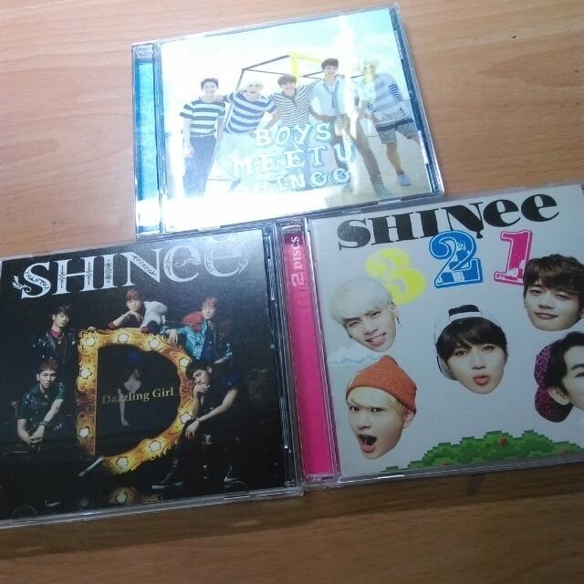 『rptqc9956跑單』SHINee 專輯 321 Boys Meet U Dazzling Girl