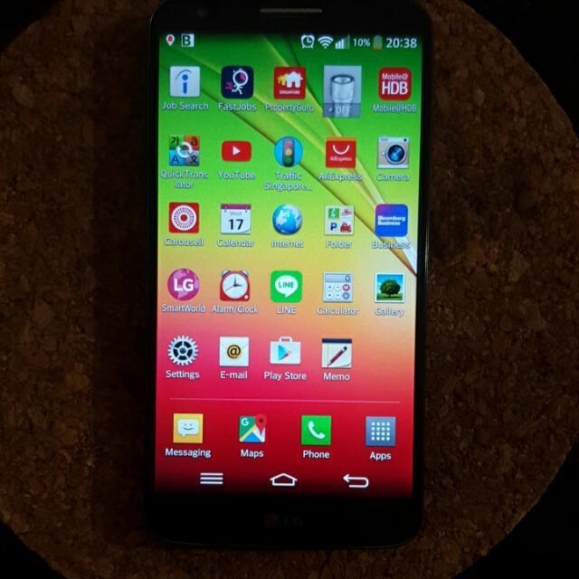 Used Lg G2 Handphone Black Electronics On Carousell