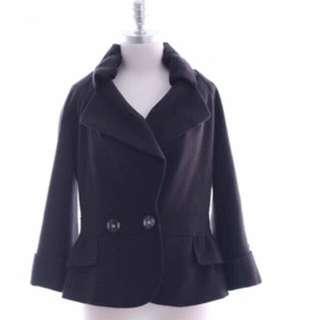 Marc Jacobs 黑色近全新小外套
