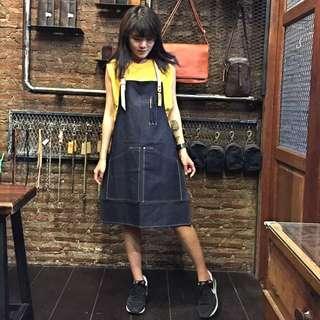 《高磅數原色單寧皮革工作圍裙》目前全數完售!!需要的朋友請私訊訂製🤖