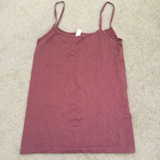 Witchery Brown Stretch Singlet