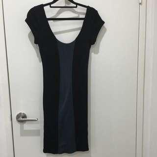 Kookai Two Toned Merino Dress