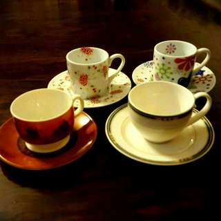濃縮咖啡杯(4組)