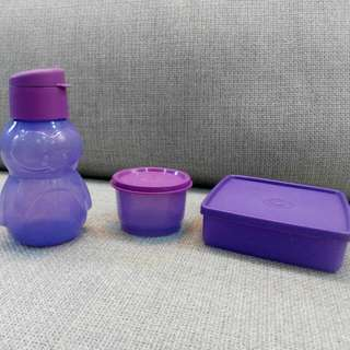 (Reserved) Purple Tupperware Set