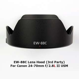 EW-88C Lens Hood (3rd Party) For Canon 24-70mm f/2.8L II USM