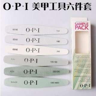 🚚 OPI 美甲修甲工具 指甲銼 雙面搓條 修型打磨 拋光塊 美甲修護套組