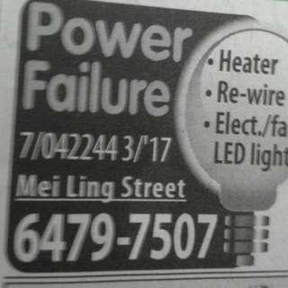 Electrical Needs
