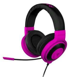 Razer Kraken Pro Neon Purple – Analog Gaming Headset – FRML ( BNIB )