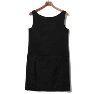 Prada 黑色小洋裝 parda 時尚洋裝