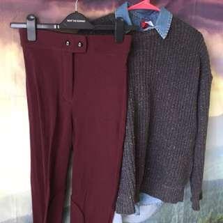 American apparel Riding Pant Size M