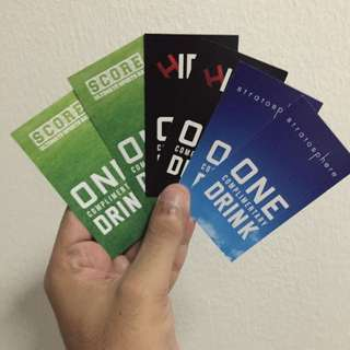 complimentary Drink Vouchers @Theroof First Avenue