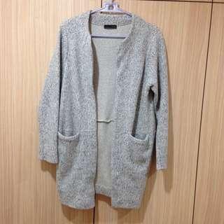 Zara 9成新 棉質大衣