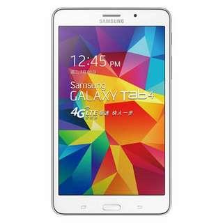 全新三星平版、PAD、Samsung Galaxy Tab 4 7 VE T2397 8G(白)(4G)
