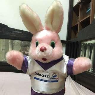 勁量兔絶版公仔