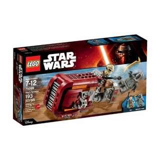 QQBricks LEGO 75099 Rey's Speeder