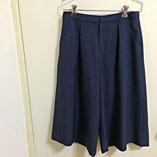 🚚 日系品牌Grove氣質寬褲 (9成新,$可議)