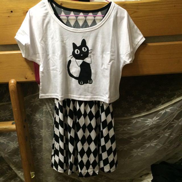 全新🤗兩件式洋裝
