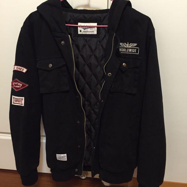 (二手)黑外套