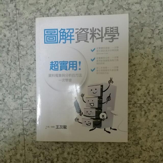 圖解資料學-王友龍著(二手課本)