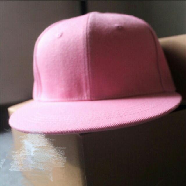 粉色棒球帽(含運)