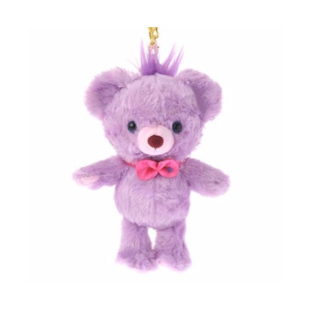 ㊙️代標㊙️大學熊紫色睡鼠吊飾