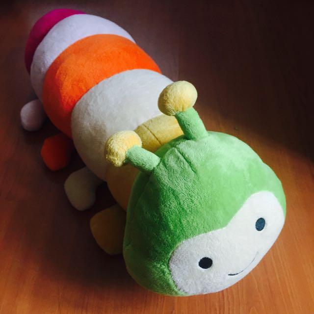 韓國帶回 毛毛蟲絨毛玩具
