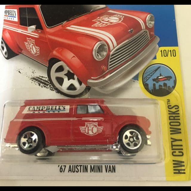風火輪 Hotwheels '67 Austin Mini VAN