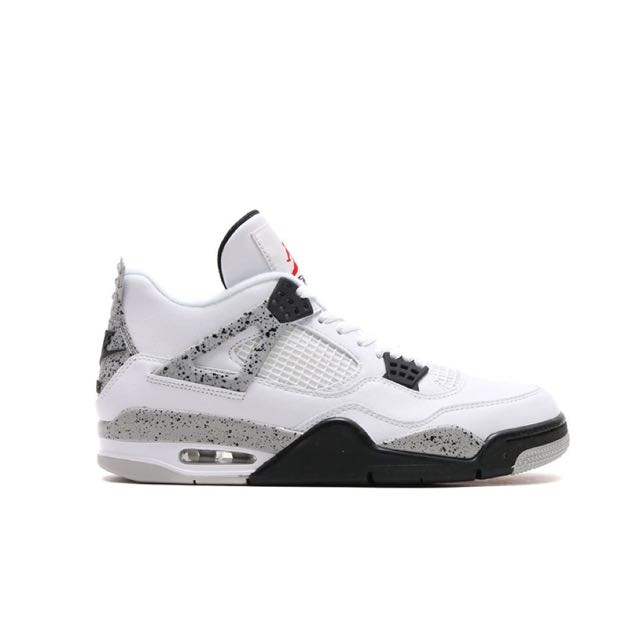 e4a861d9f76 SIZE 10 AND 12]Air Jordan 4 OG White Cement, Sports on Carousell