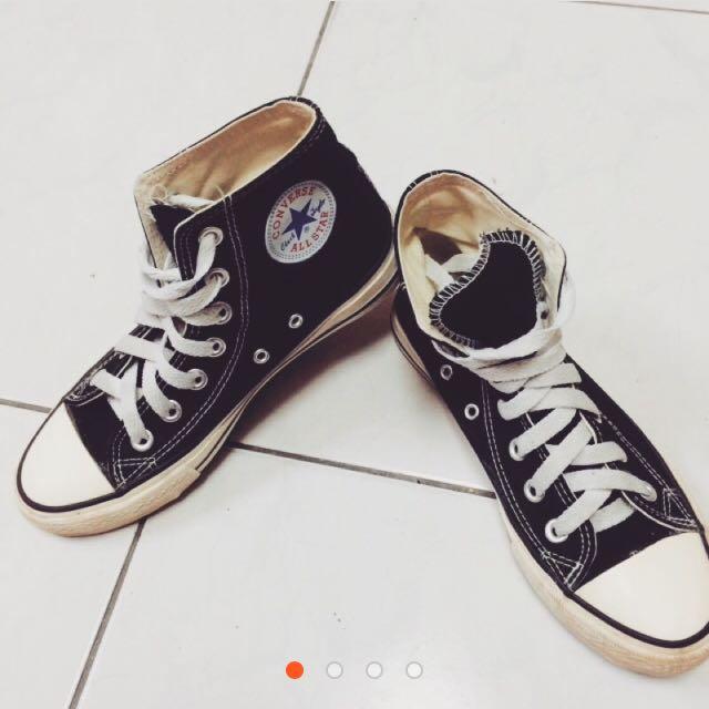 (暫售)ALL STAR/CONVERSE正品高筒帆布鞋