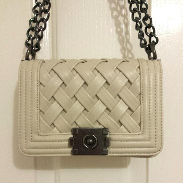 Cross Woven Handbag