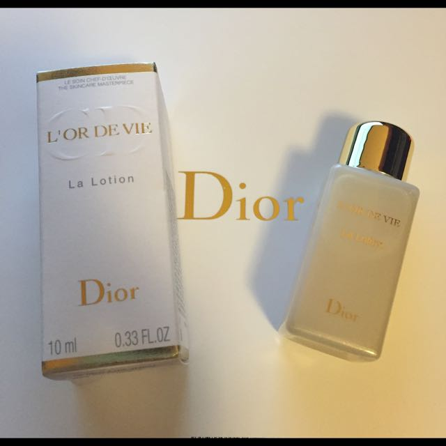 Dior 生命之源金萃煥顏露