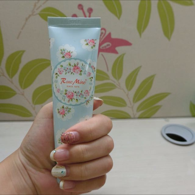 EVAS玫瑰香水護手霜(藍-寶貝嫩香)