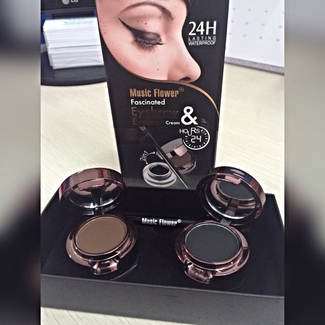 Eyeliner & Eyebrow 2in1 Waterproof 24h