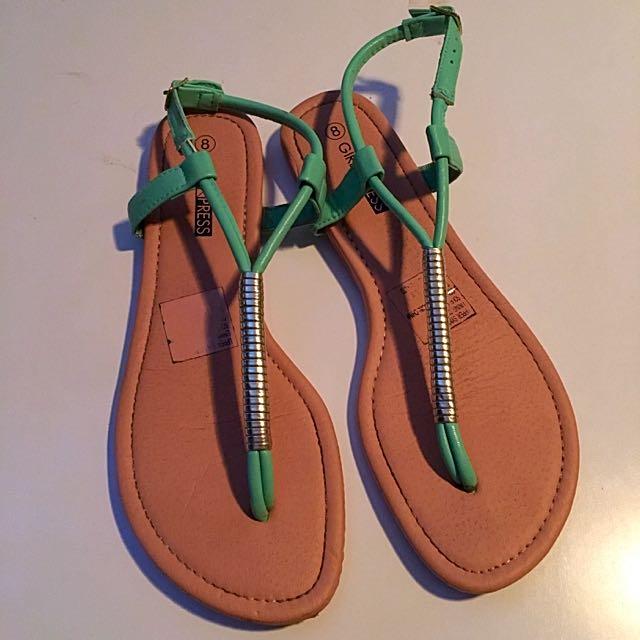 Flat Shoes Size 8