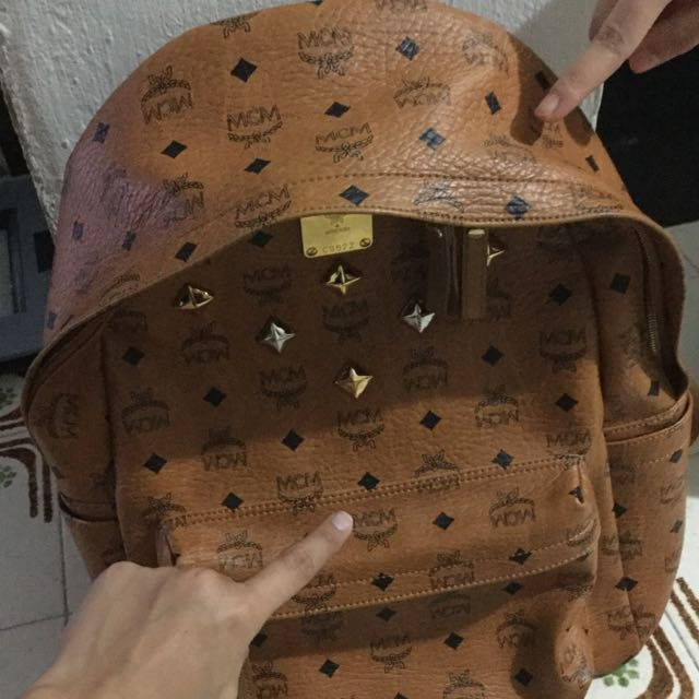 How To Spot Fake Mcm Bags Luxury On Carou