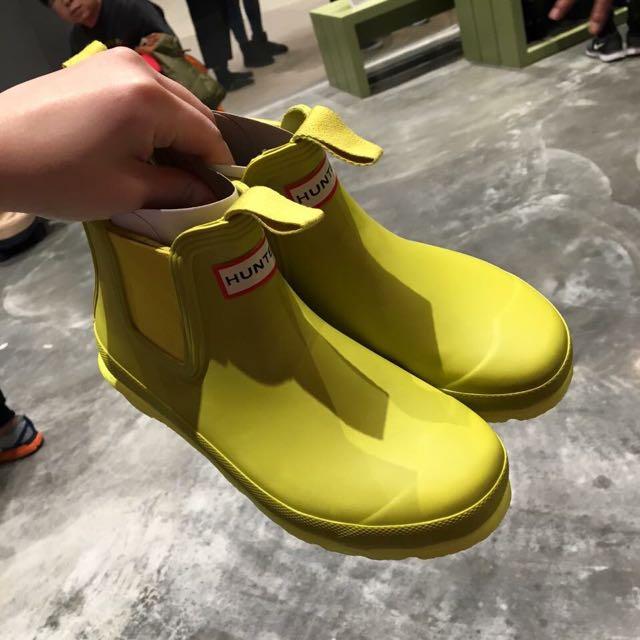 Hunter短靴👟