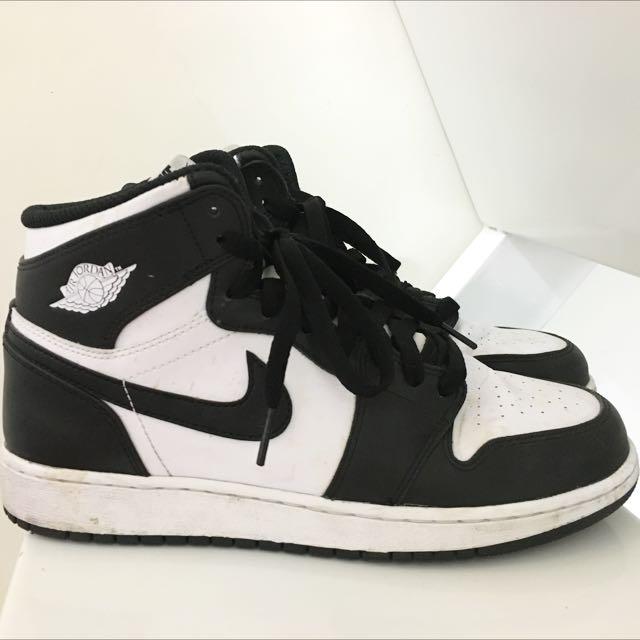 Jordan1 OG黑白 6.5y